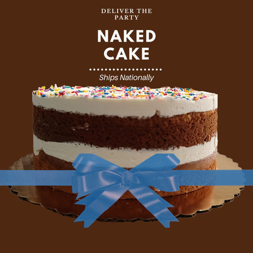 Naked Cake  (Ships Nationally!)