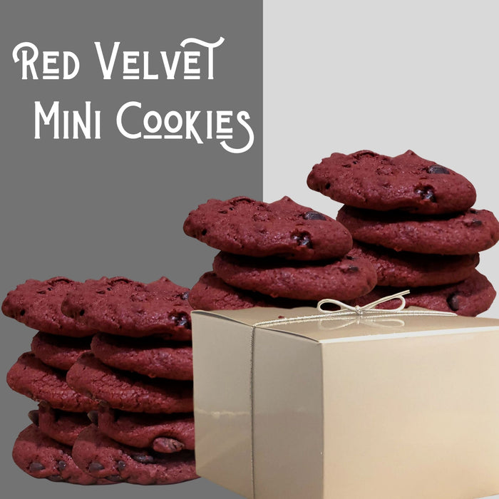 Red Velvet Mini Cookie Gift Set
