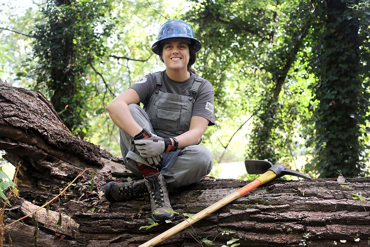 Woman at Work: Brenna Kelly, Southeast Conservation Corps Director