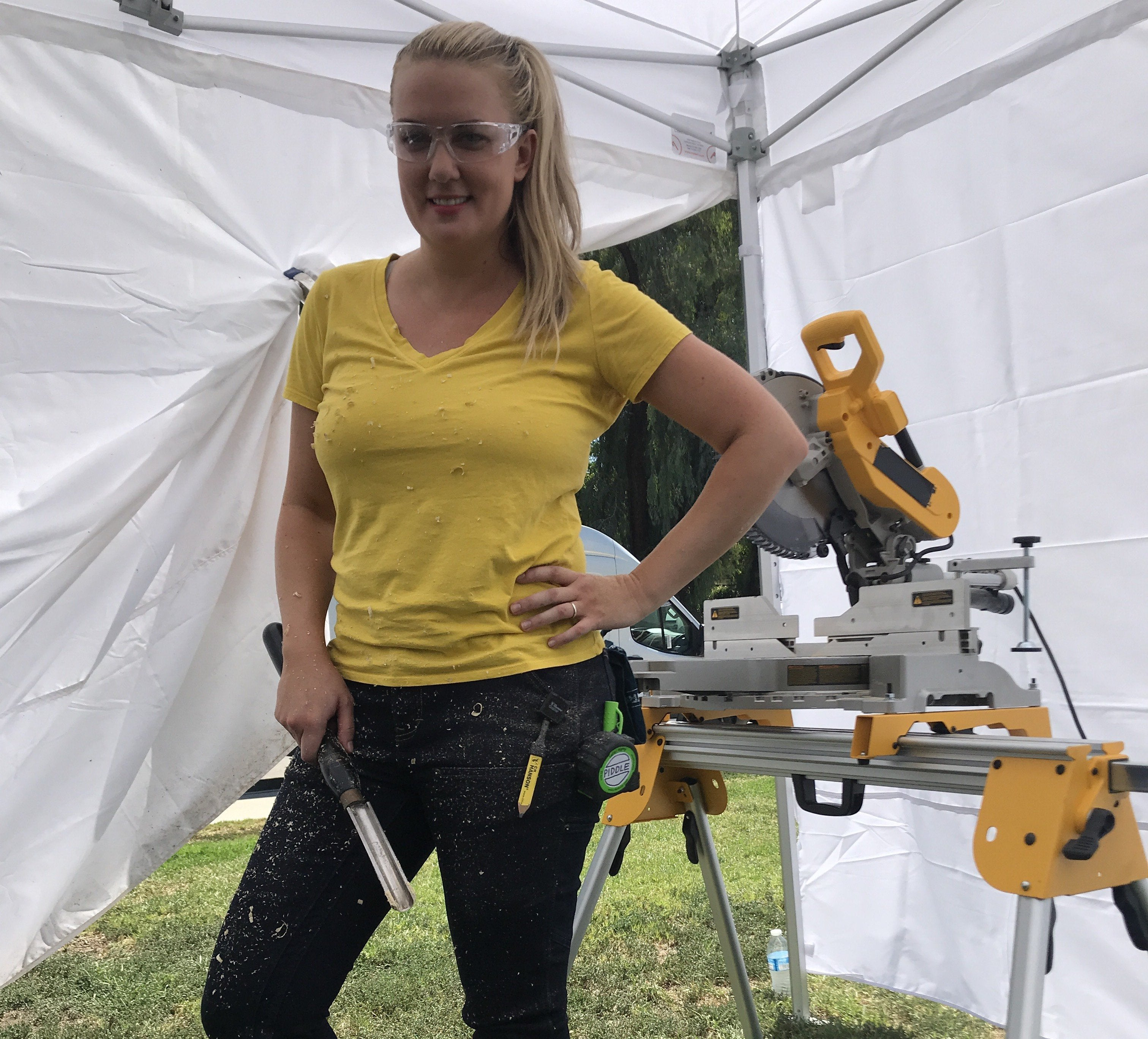 Women at Work: Trading Spaces Carpenter Joanie Sprague