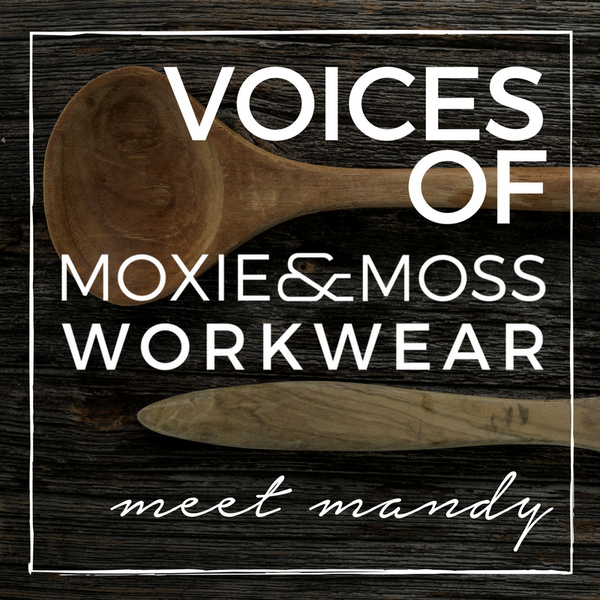 voices of moxie and moss: meet mandy | pastry chef
