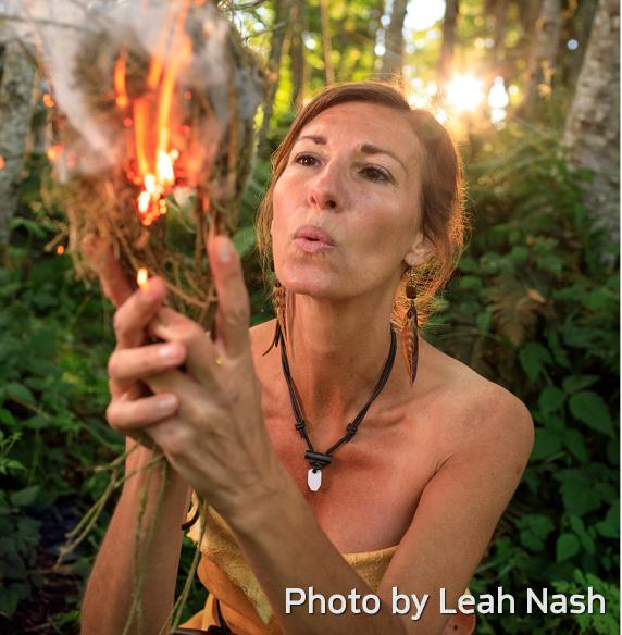 Women at Work: Herbalist & Survival Skills Instructor Dr. Nicole Apelian
