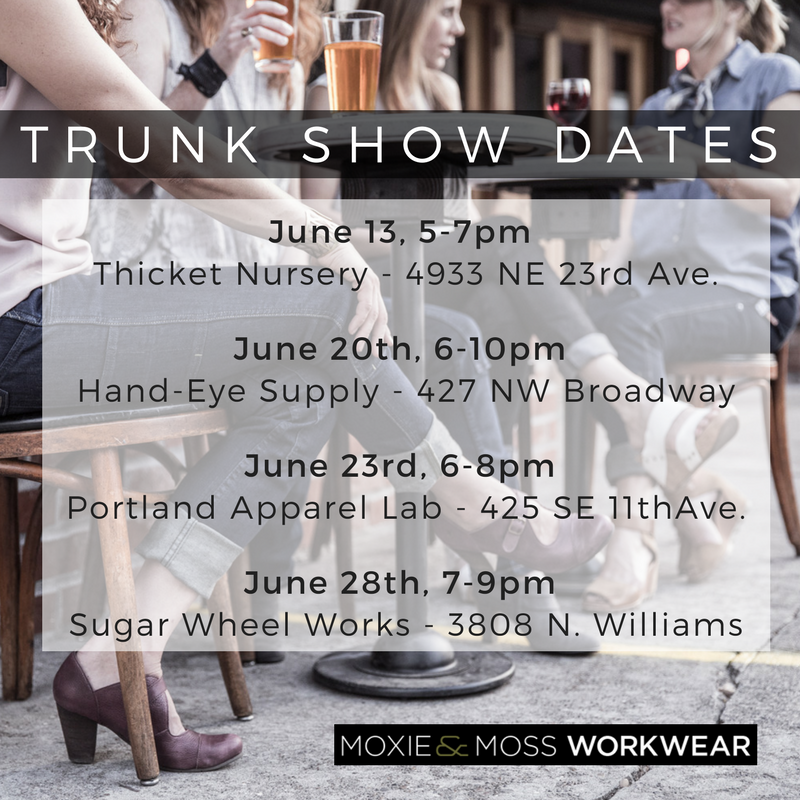June Trunk Shows