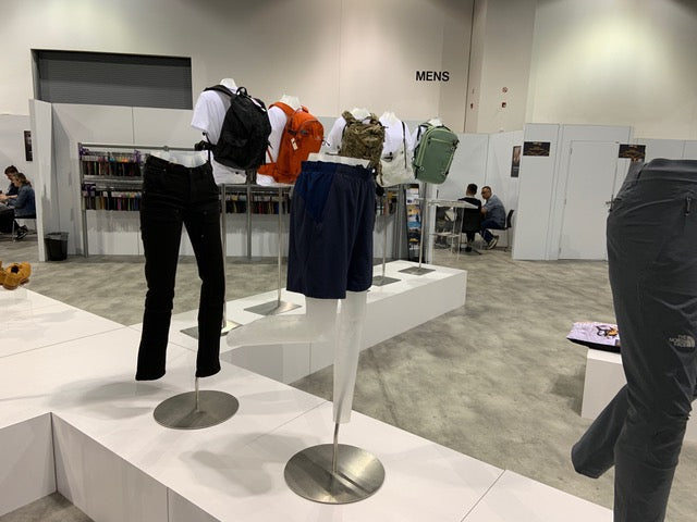"<p> </p> <div style=""text-align: center;""></div> <h4 style=""text-align: center;""><em>No Fade with CORDURA® Maven Slim workpants on display at Outdoor Retailer Summer 2019. </em></h4>"