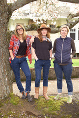 Founders of Moxie and Moss Workwear for Women in Portland, Oregon