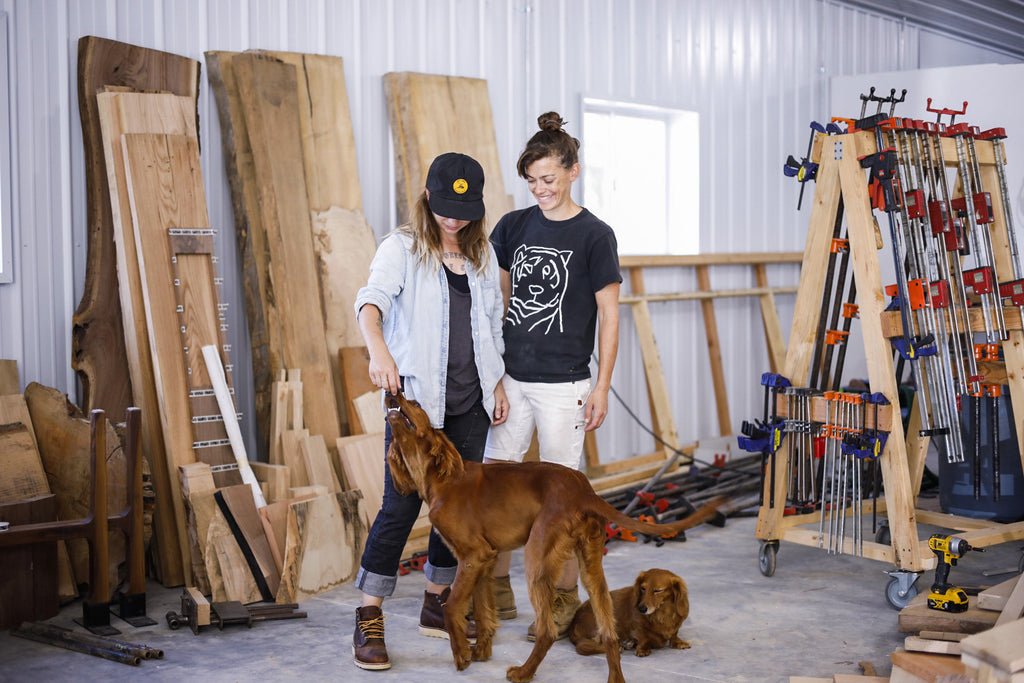 Dovetail Women at Work Audi and Ivy of Siosi Design