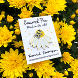 Enamel Bumble Bee Pin