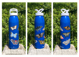 Limited Edition Butterfly & Moth 24oz Water Bottle