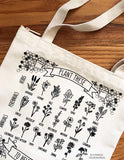Plant These to Help Save Bees Eco-Friendly Tote Bag