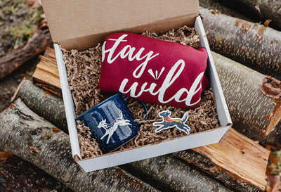 Stay Wild Sweatshirt & Mug Gift Box