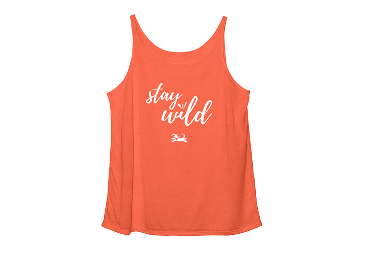 Stay Wild Women's Slouchy Tank