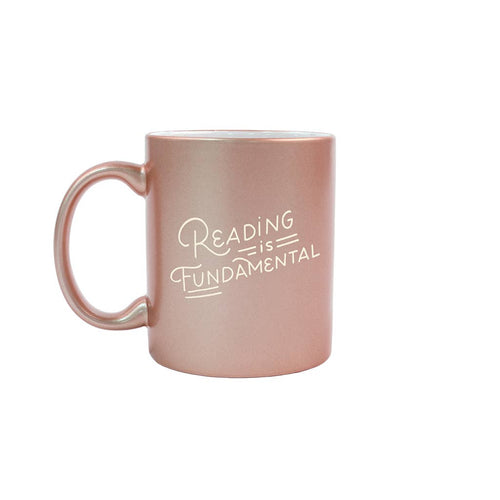 Reading is Fundamental Metallic Mug