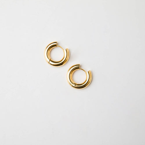 Candongas Gold Medium Hoops