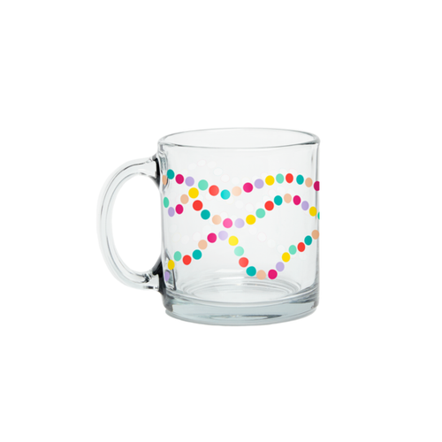 Sugar Rush Glass Mug