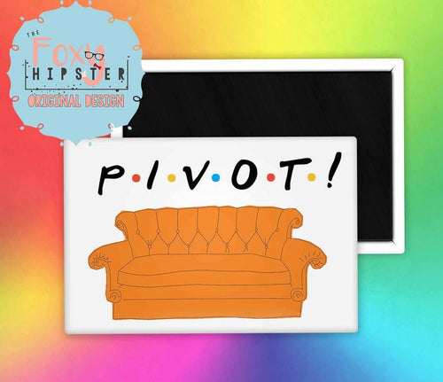 Friends Pivot Fridge Magnet