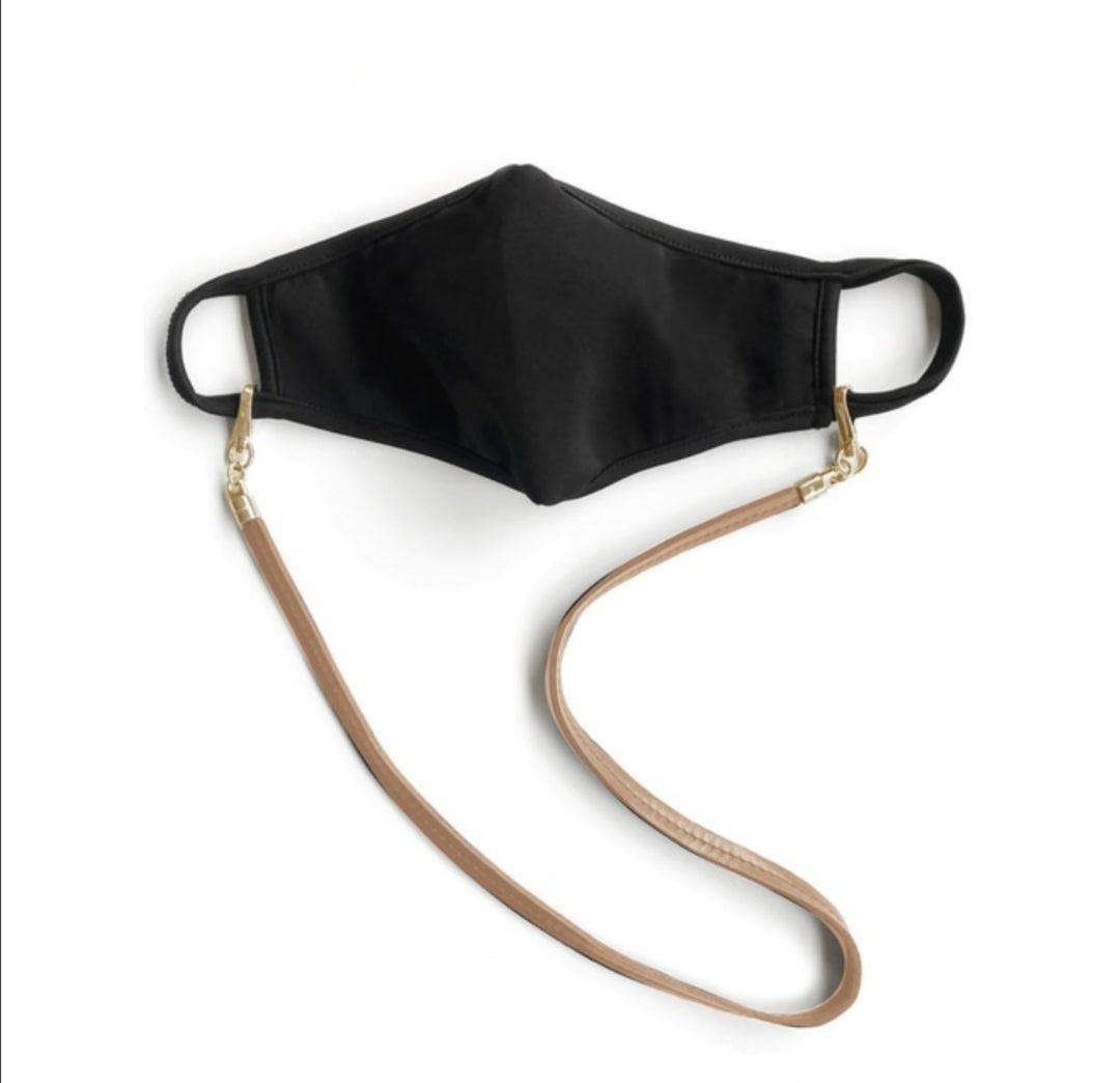 Eara Leather Mask Lanyard