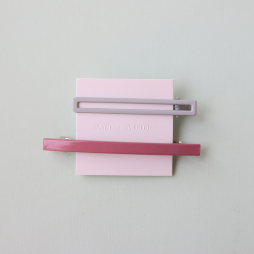 Lily Barrette In Pink + Blue