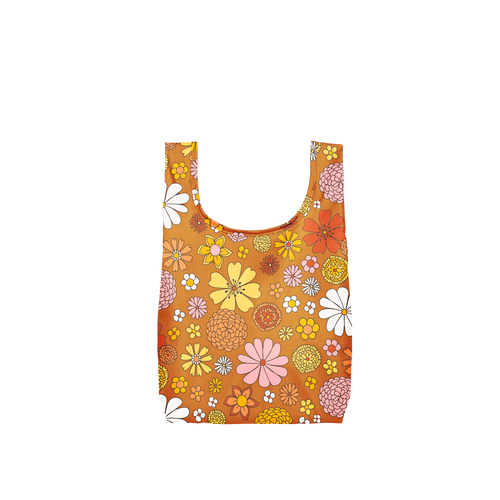 Flower Power Small Reusable Bag