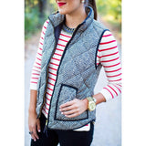 Herringbone Vest | Biology Boutique