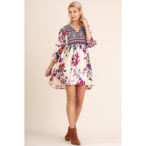 Heart Of Hearts Floral Dress | Biology Boutique