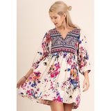Heart Of Hearts Floral Dress - Biology Boutique