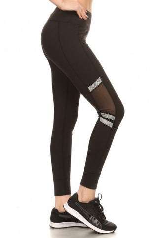 Start To Finish Black Leggings - Biology Boutique