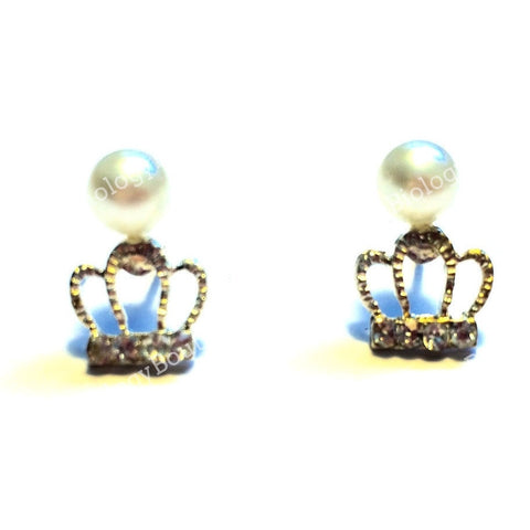 Allison Crown Studs