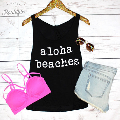 Aloha Beaches Tank Top - Biology Boutique