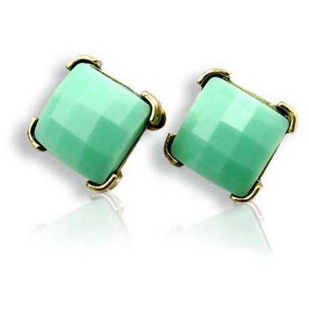 Amanda Blue Studs - Biology Boutique