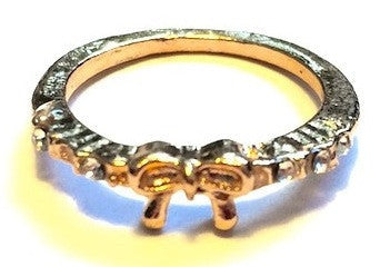 Amanda Bow Ring - Biology Boutique