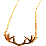 Antler Necklace - Biology Boutique