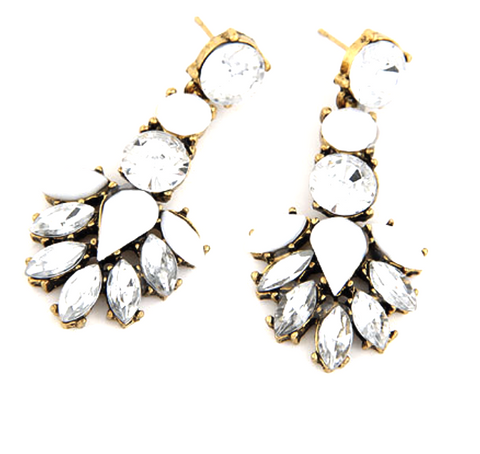 Aria Sparkling Earrings - Biology Boutique