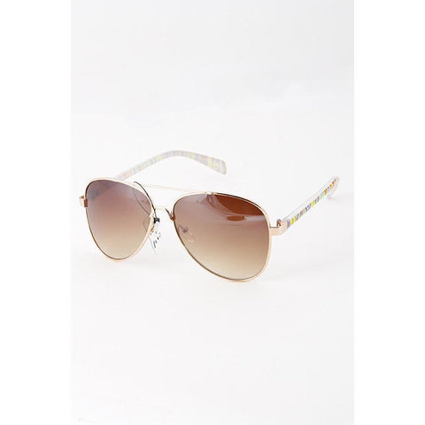 Maggie Aviator Sunglasses