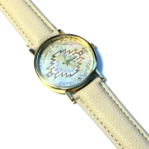 Aztec Grey Watch - Biology Boutique