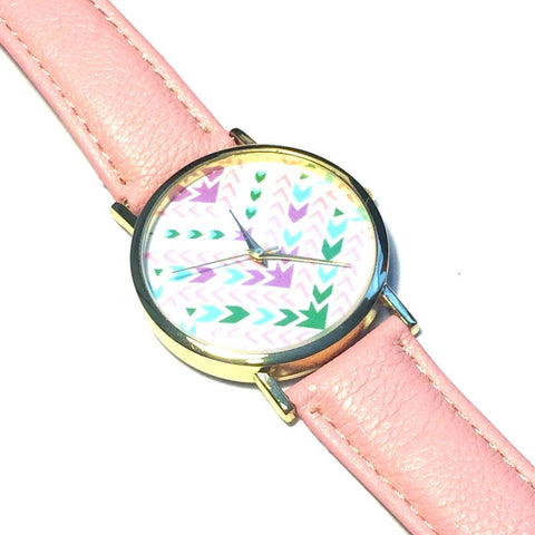 Aztec Pink Watch - Biology Boutique