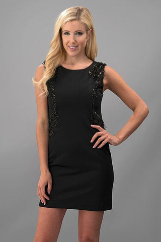 Run The World Black Dress - Biology Boutique