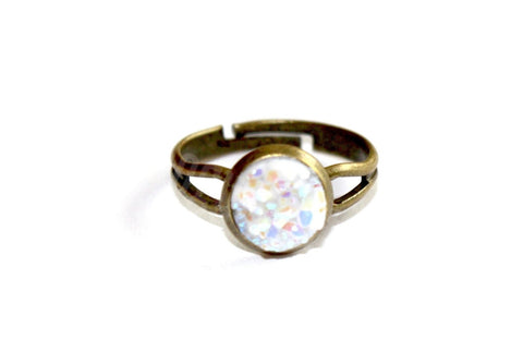 Bronze Druzy Ring - Biology Boutique