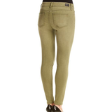 Mid Rise Washed Out Skinnies - Biology Boutique