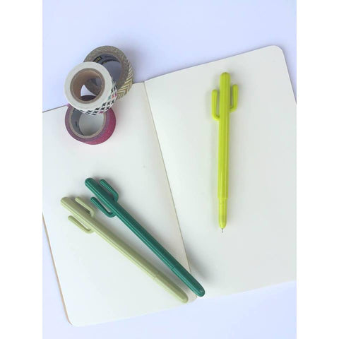 Cactus Gel Pen | Biology Boutique