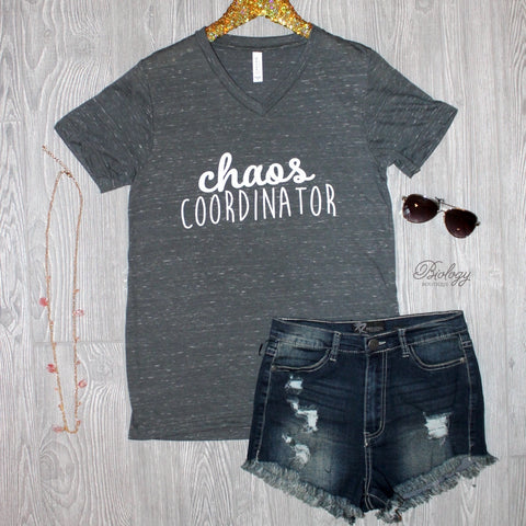 Chaos Coordinator Tee - Biology Boutique
