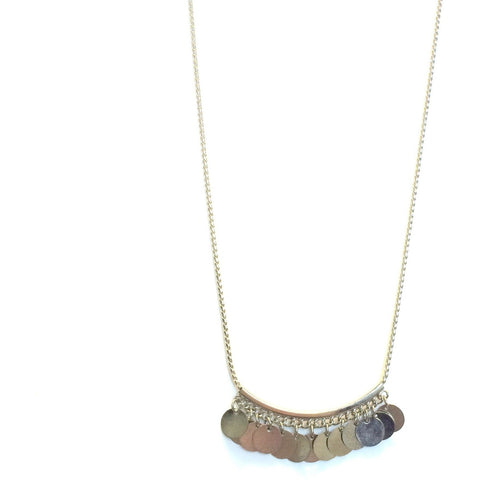 Christina Coin Necklace - Biology Boutique