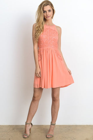 Hopeless Romantic A Line Dress - Biology Boutique