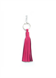 Leather Tassel Key Chain - Biology Boutique