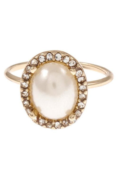 Olivia Ring in Cream - Biology Boutique