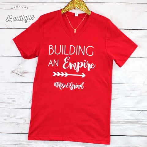 Building an Empire Tee - Biology Boutique