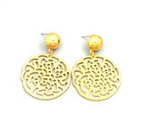 Felicity Gold Drop Earrings - Biology Boutique