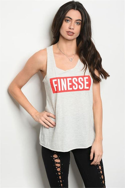 Finesse Graphic Tank - Biology Boutique