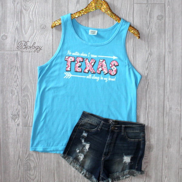Texas Will Always Be My Home Tank - Biology Boutique