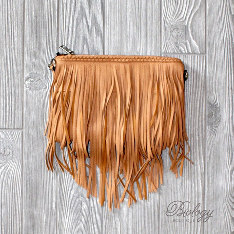 Capetown Crossbody with Fringe - Biology Boutique