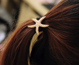 Gold Starfish Hair Tie - Biology Boutique